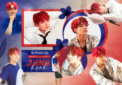 PNG PACK: JungKook #25 (Summer Package in Saipan)