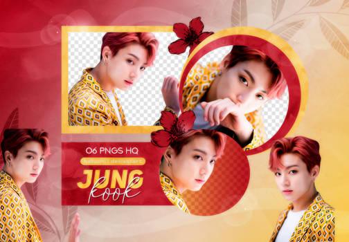 PNG PACK: JungKook #26 (IDOL) by Hallyumi