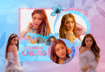 PNG PACK: ChungHa #3 (LOVE U) by Hallyumi