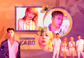 PNG PACK: KARD #2 (Ride on the Wind) by Hallyumi
