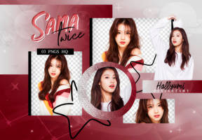PNG PACK: Sana #1 by Hallyumi