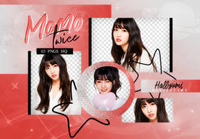 PNG PACK: Momo #1 by Hallyumi