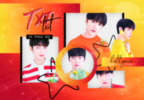 PNG PACK: TXT #1 by Hallyumi