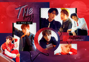 PNG PACK: THE BOYZ 'THE SPHERE' by Hallyumi