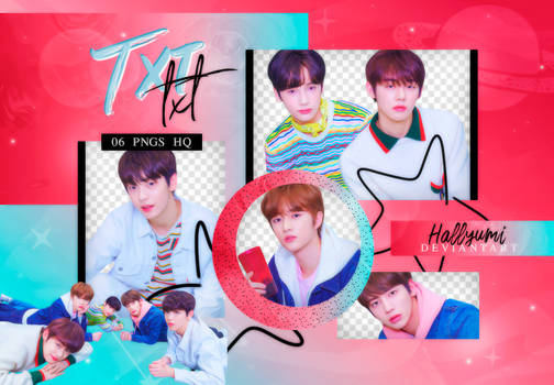 PNG PACK: TXT #2   'The Dream Chapter: STAR'