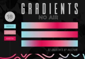 GRADIENTS: No Air by Hallyumi