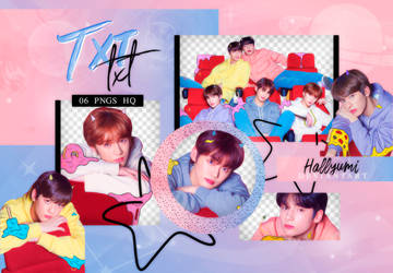 PNG PACK: TXT #3 | 'The Dream Chapter: STAR' by Hallyumi