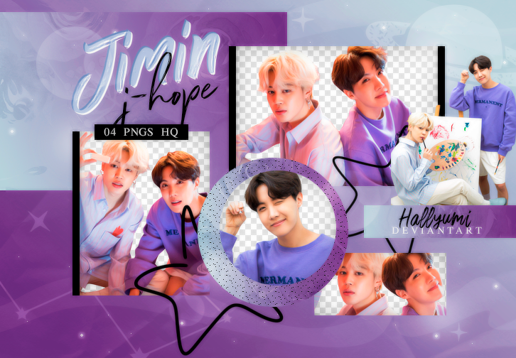 PNG PACK: JIMIN X J-HOPE #2 | WHITE DAY