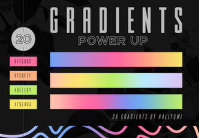GRADIENTS: Power Up by Hallyumi