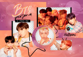 PNG PACK: BTS #67   MAP OF THE SOUL: PERSONA by Hallyumi