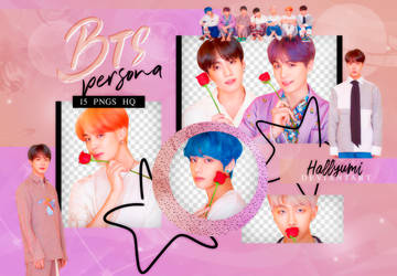 PNG PACK: BTS #68 | MAP OF THE SOUL: PERSONA by Hallyumi
