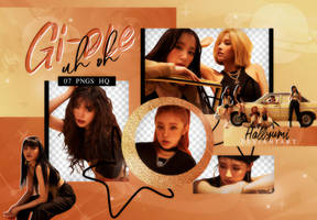 PNG PACK: (G)I-DLE #5 'UH OH' by Hallyumi