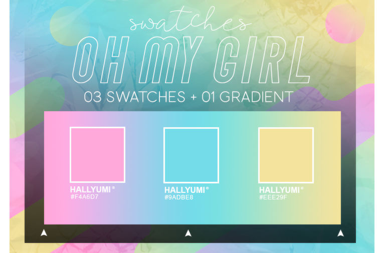 SWATCHES: OH MY GIRL