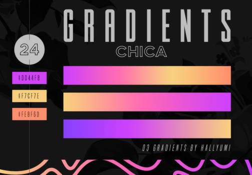 GRADIENTS: Chica