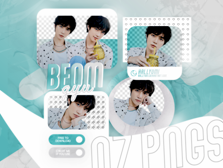 PNG PACK: BEOMGYU #03   Minisode1: Blue Hour