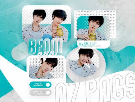 PNG PACK: BEOMGYU #03 | Minisode1: Blue Hour