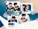 PNG PACK: HUENINGKAI #02   Minisode1: Blue Hour