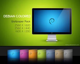 Debian Colored by miel-g