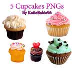 Cupcake PNGs by KatieBabie96