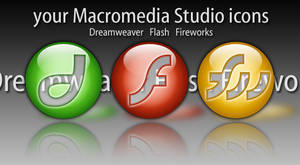Flash Dreamweaver Fireworks