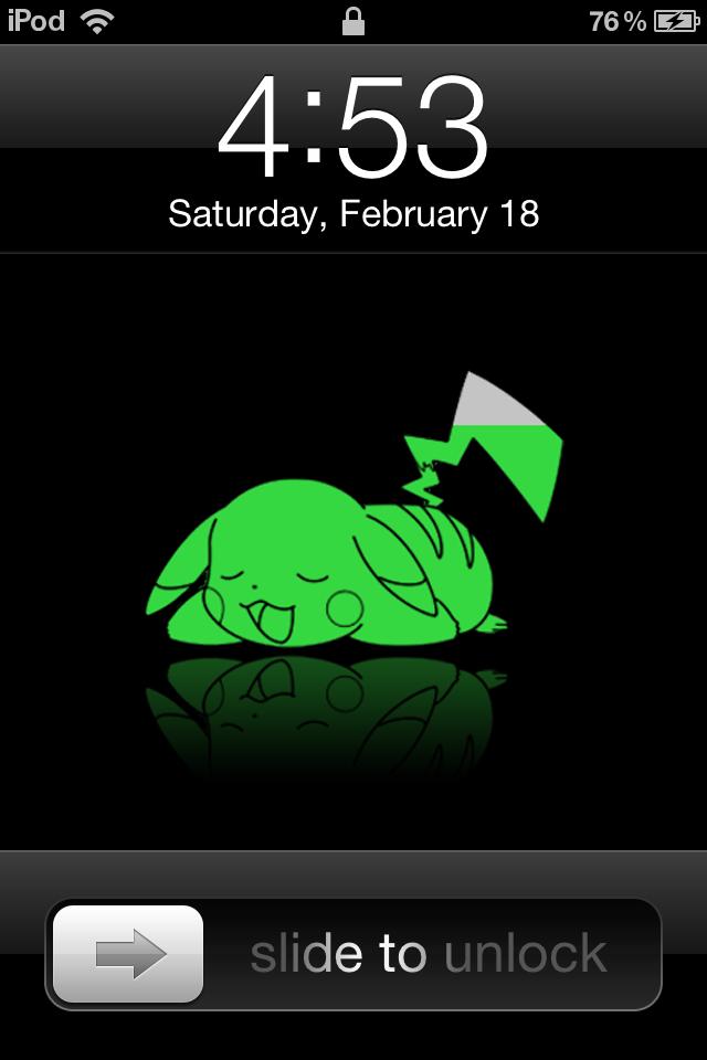 IPod Touch Pikachu Battery By AskingMyValentine