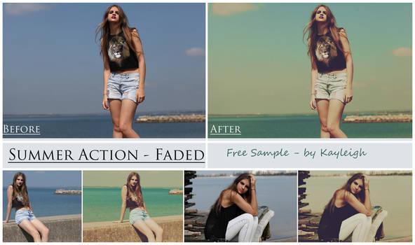 Summer Set - 'Faded' - Free Sample