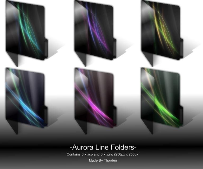 Aurora Line Folders