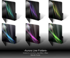 Aurora Line Folders by Thorden