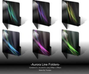 Aurora Line Folders by Thorden