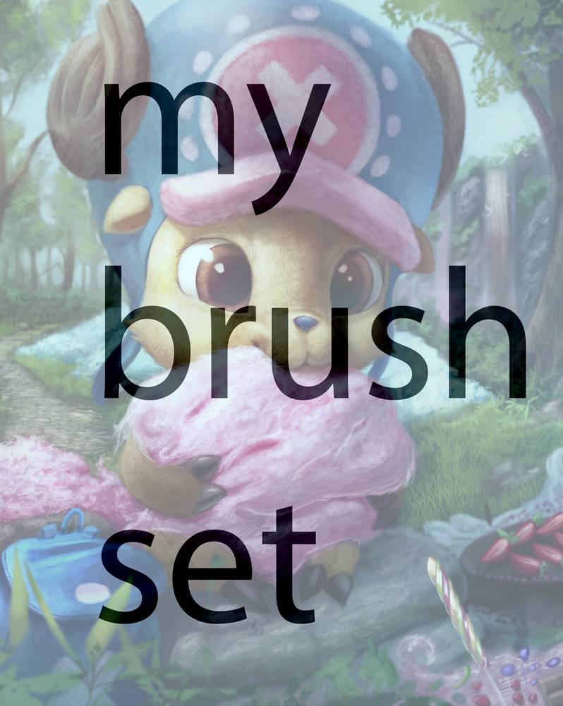 My brushset