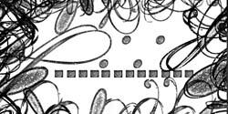 Glittery Swirls by trulysarah