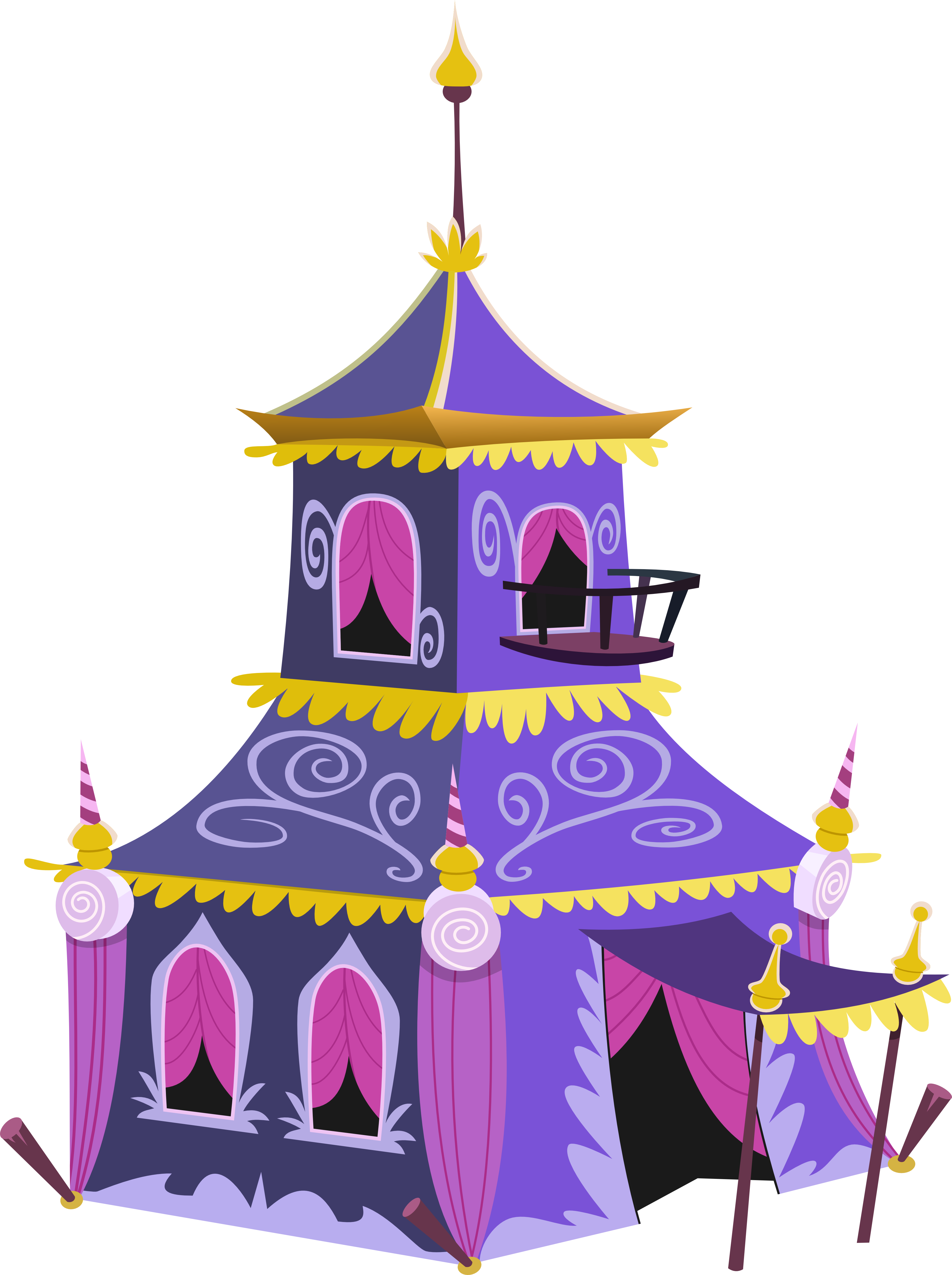 Rarity's Tent