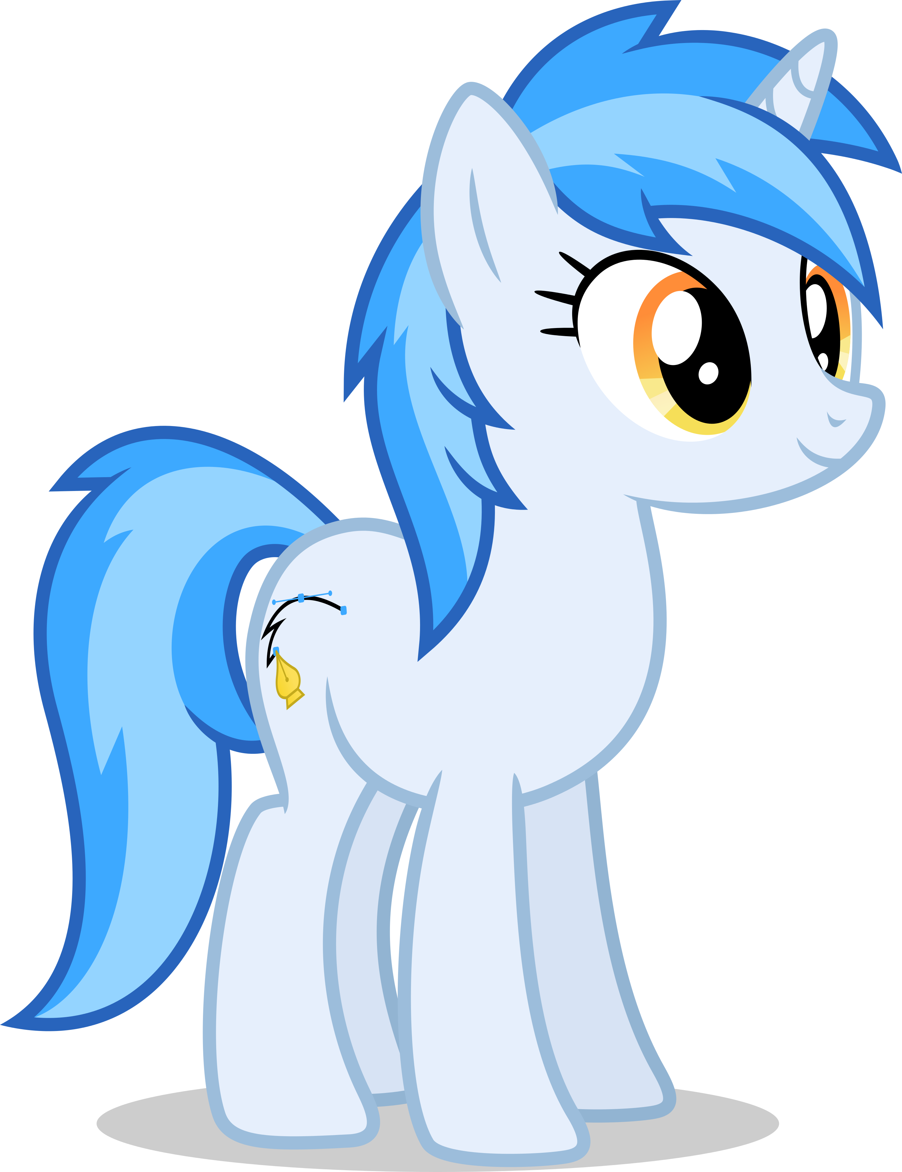 Penny Curve (MLP-VectorClub Mascot 2.0) by Ambassad0r