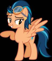 Indigo Zap (Pony) by Ambassad0r
