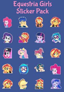Equestria Girls Sticker Pack