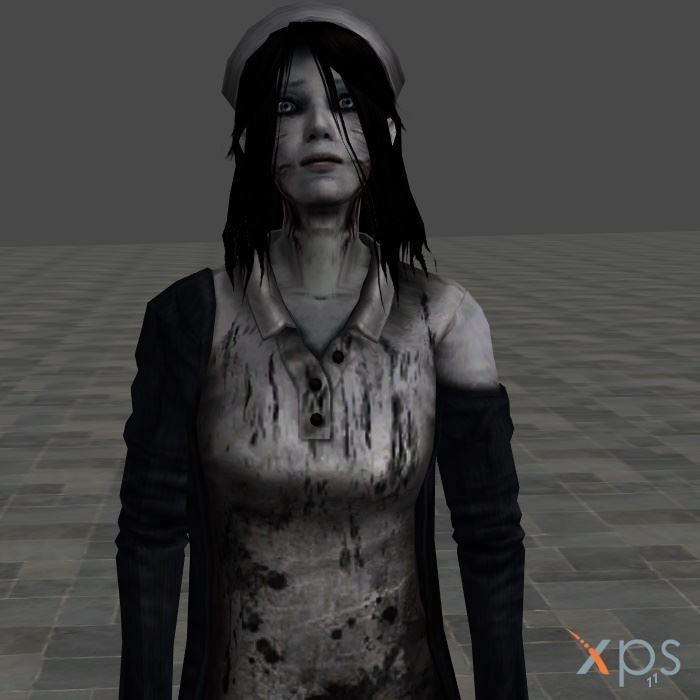 Fatal frame 4 ghost - Nurse by mz3dcg on DeviantArt