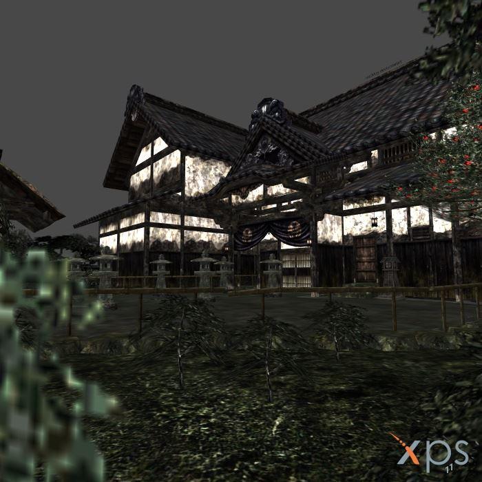 Fatal Frame 2-Kurosawa House Entrance by mz3dcg