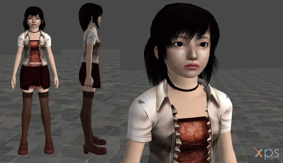 Fatal Frame 3 - Miku Hinasaki by mz3dcg