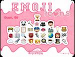Emoji Iconos By SammyStyles