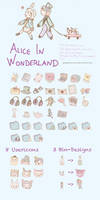 Alice in Wonderland Iconset