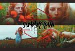 Summer Rain PSD Coloring