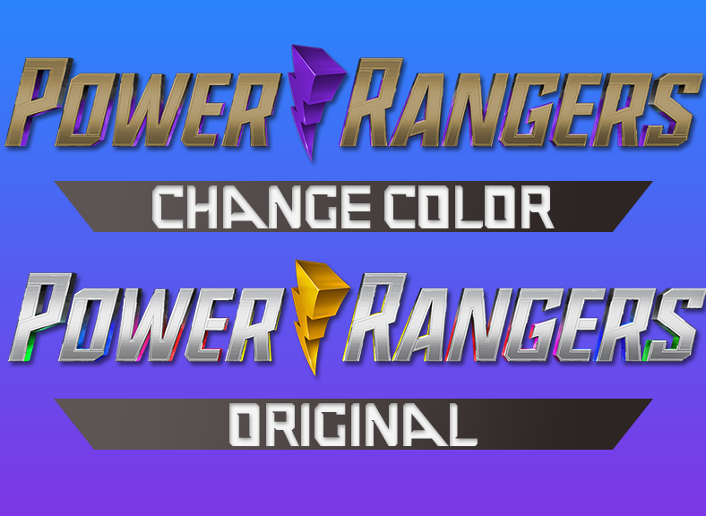 Power Rangers 2019 Logo Change Color by JJK100 on DeviantArt