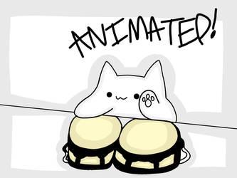 Bongo Cat. (Animated.) by 21WolfieProductions