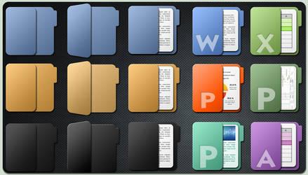 'Faenza like' Folders