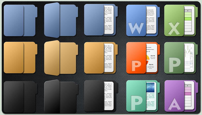 'Faenza like' Folders by c242