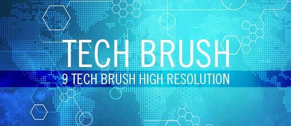 Tech Brushes by Jaaaiiro