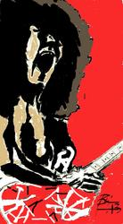 Eddie Van Halen by BLB55