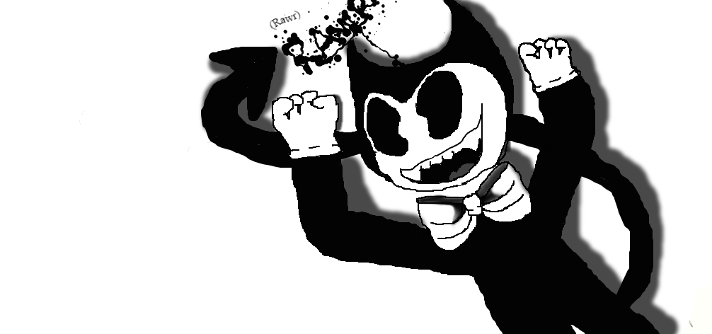 A bit more playfull bendy XD by SpringTrapGurl4Life