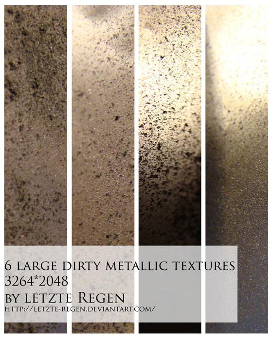 dirty metallic textures by letzte-Regen