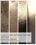 dirty metallic textures